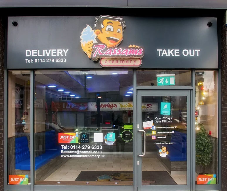 Rassams Takeaway & Delivery Sheffield